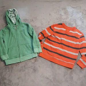 Bundle of boys size 5t/4/5 Target sweatshirts